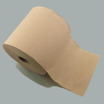 Рулон полотенец для рук из коричневой бумаги