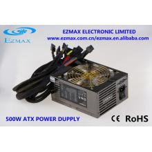 Высокая мощность компьютера 500 Вт 80 Plus Apfc