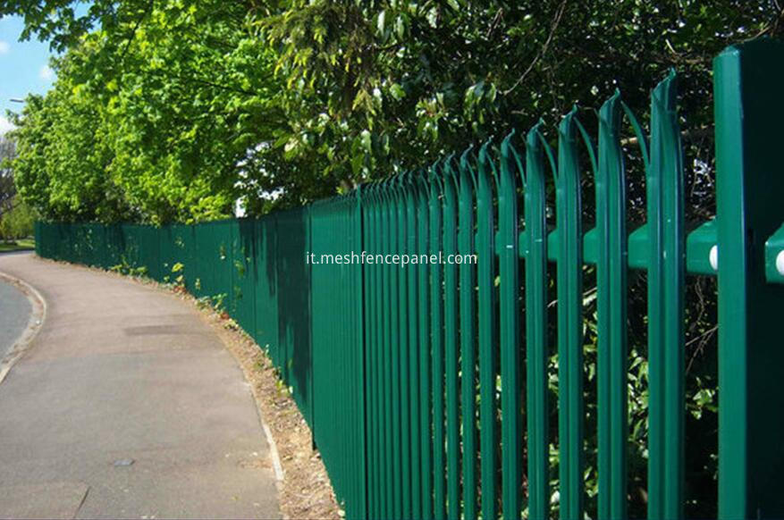 applications of palisade fence1
