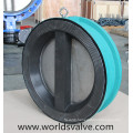 Rubber Coated Wafer Type Check Valve