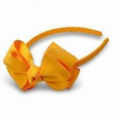 Yellow Color Hair Clip, OEM Orders Welcomed, Hair Hoop