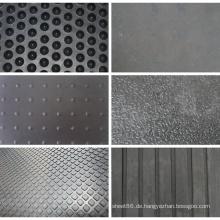 Verschiedene Muster Stall Kuh Rubber Mat zum Verkauf