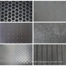 Different Patterns Stable Cow Rubber Mat for Sale