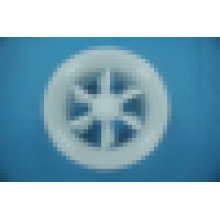 Difusor de ar variável redemoinho alumínio