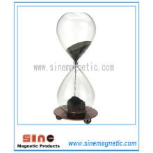 Магнитный песочный песочный песочный часы Магнитный подарок