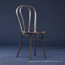 Venta al por mayors silla del café Thonet del metal de la vendimia (SP-MC070)