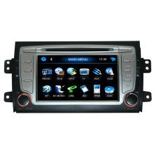 2 DIN Car DVD Player para FIAT Sedici Navegación GPS HD Función de pantalla táctil