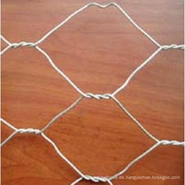 Baustoffe verzinktes Sechskant-Mesh-Netz (Anjia-105)