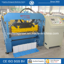 ISO Self-Lock Roof Panel Cold Roll Forming Machine