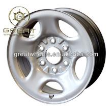 Nueva utilidad 16x5.5 chinos rueda de camión ligero para el borde del camión ligero