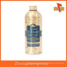 Guangzhou Hersteller Großhandel Druck-und Verpackungsmaterial benutzerdefinierte Klebeetikett für Saft Glasflasche