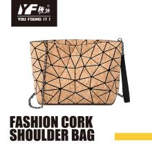 Custom cork fasion shoulder bag