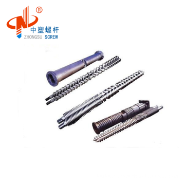 best price twin conical screw and barrel for window profile China factory