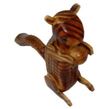 bois kangourou animaux artisanat indonésien bois art
