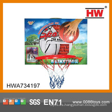 Mini baloncesto plástico plástico del aro del baloncesto del juguete mini aro de baloncesto