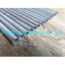 Tubos de aço inoxidável sem emenda de ASTM A269 316L 12.7 * 0.8