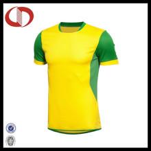 2016 Melhor camisa de futebol respirável do melhor design sem logotipo