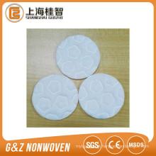 Almofada de algodão cosmética não tecida Almofada de algodão de 3 camadas de alta qualidade