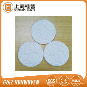 coussin de coton cosmétique non tissé coussin de coton 3 couches de haute qualité