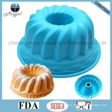 Hot Sale 9 pouces Party Silicone Chiffon Cake Pan Bakeware Sc56