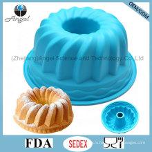 Горячие продажи 9 дюймов партии силиконовые шифон пирожные Пан Bakeware Sc56