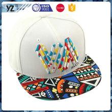 Principale origine du produit chapeau snapback couleur solide avec bon prix