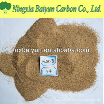 3-5mm Walnut Shell filter media for Oily Sewage Treatment
