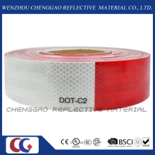 DOT-C2 auta-adhesivo clara cinta reflectante para vehículos (C5700-B(D))