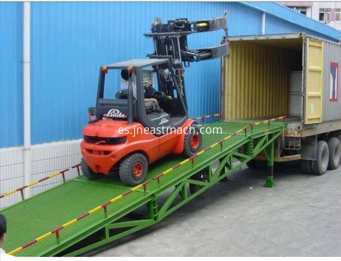 Mobile Hydraulic Loading And Unloading Cargo Ramp Dock Leveler