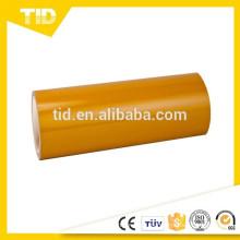 Láminas reflectantes amarillas, grado de publicidad, película de superficie de PET, ASTM D4956,3100