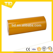 Yellow Reflective Sheeting, Advertisement Grade, PET Surface Film, ASTM D4956,3100
