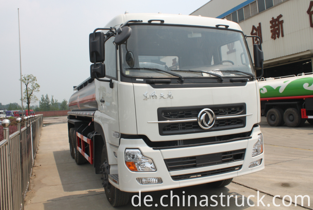Dongfeng 6x4 25Ton HCL solution tank truck