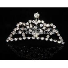 Wholesale child princess crown, small princess crown, mini kids crown