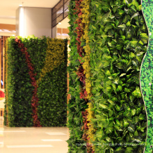 2018 Hot products artificial synthetic foliage wall for interior decoration