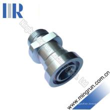 Conector de tubo adaptador métrico macho / serie S brida (1DFS)