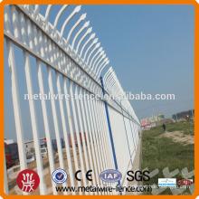 CE / ISO-Zertifizierung Fabrik heißen Verkauf Qualität Stahlrahmen Zaun