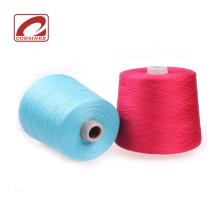 fio de seda de cashmere semi penteado para máquina de tricô