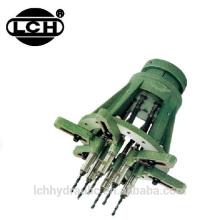máquina giratória do equipamento de perfuração do núcleo com tipo cabeça quadrada do multi eixo do u