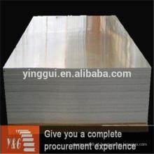Preço da chapa de alumínio por kg de chapa metálica