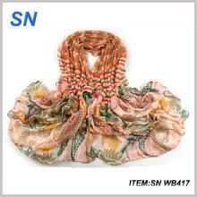 Bonnet large en coton à la mode