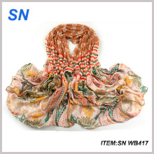Fashionable Autumn Wholesale Cotton Wide Shawl