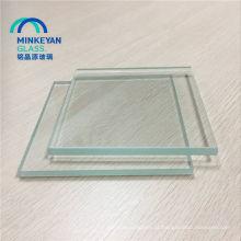 vidro laminado moderado claro do pvb 6mm 8mm