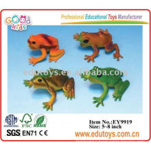 Plastic colorful frog teaching aid animal toys