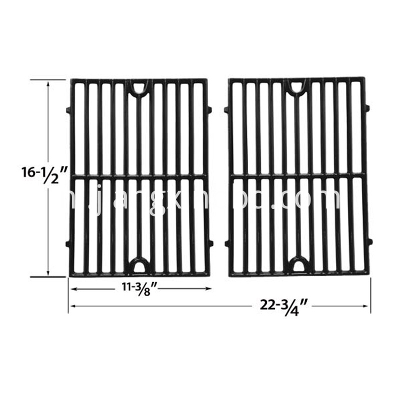 GLOSS CAST IRON REPLACEMENT COOKING GRID 2pcs per set