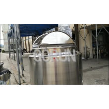 Double Open Cover Chemical/Food Grade Mixing Tank
