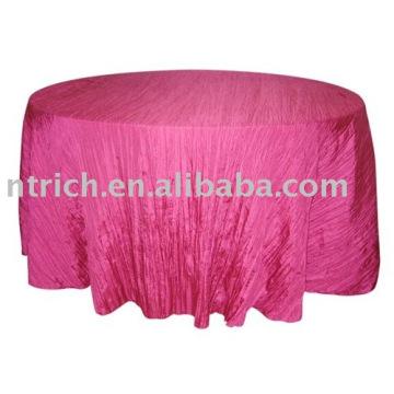 Magnifique tissu de table en taffetas concassé