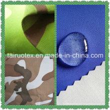 Taslon imprimé de tissu imperméable pour les vestes