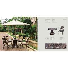 Outdoor Cast Aluminium Table (HY-T001)