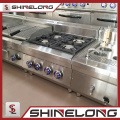 Garantia de qualidade da série Furnotel 600 Equipamento de cozinha Gama de gás com fogão de 4 queimadores