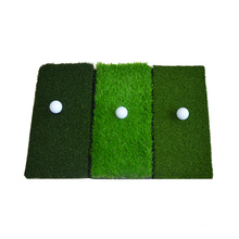 Indoor Foldable Grass Golf Mat With Rubber Base